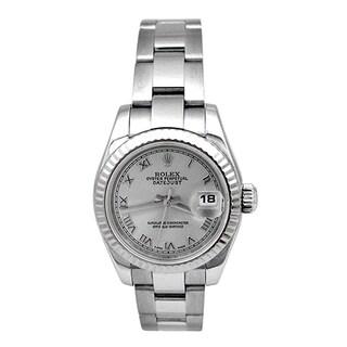 Pre-owned Rolex Women's 26mm Rolex Datejust Watch|https://ak1.ostkcdn.com/images/products/14076587/P20688173.jpg?_ostk_perf_=percv&impolicy=medium