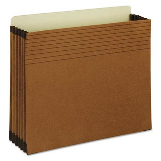 Smead Easy Grip File Pocket Letter 5 1/4-inch Exp Redrope (Box of 10)