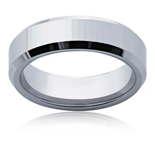 Men's Tungsten 6mm High-polished Band Ring