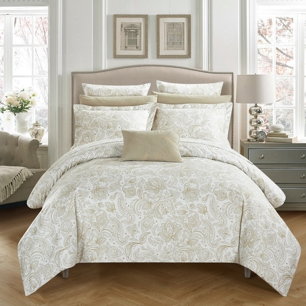 Chic Home 7-Piece Newark Park Bed In A Bag Duvet Set