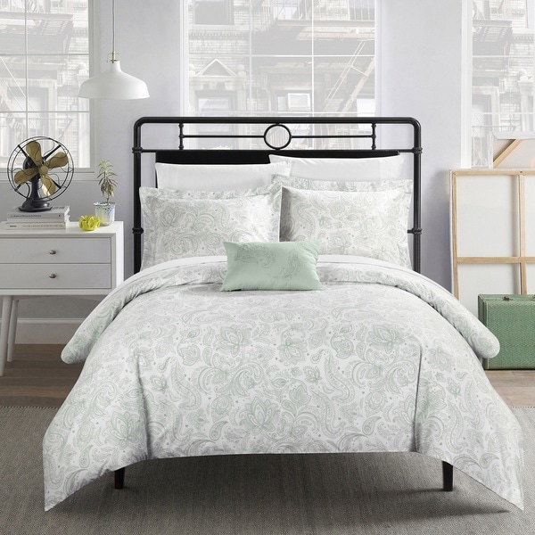 Chic Home 7-Piece Newark Park Bed In A Bag Duvet Set