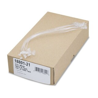 Avery Secur-A-Tach Tag Fasteners Weatherproof Nylon 9-inch Long (Box of 1000)