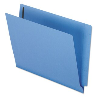 Pendaflex Reinforced End Tab Expansion Folder Two Fasteners Letter Blue (Box of 50)