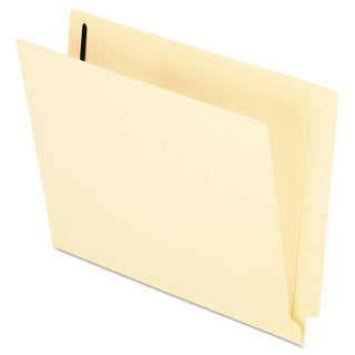 Pendaflex End Tab Expansion Folders 1 Fastener Straight Cut Tab Letter Manila (Box of 50)