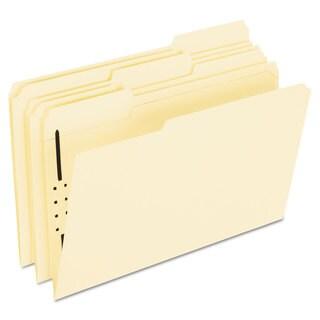 Pendaflex Fastener Folders 1 Fasteners 1/3 Cut Tabs Legal Manila (Box of 50)