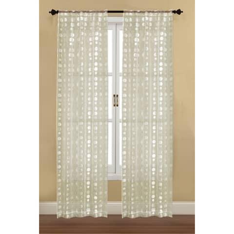 Westgate Bubbles Curtain Panels (Set of 2)