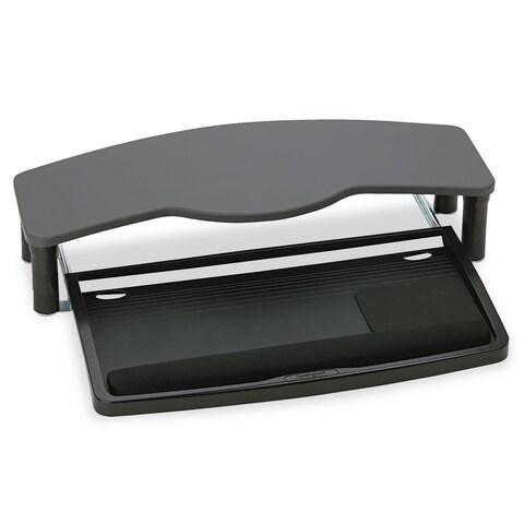 Kensington Comfort Desktop Keyboard Drawer With SmartFit 26-inch wide x 13-1/2d Black/Grey