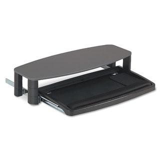 Kensington Over/Under Keyboard Drawer with SmartFit System 14-1/2-inch wide x 23-inch deep Black
