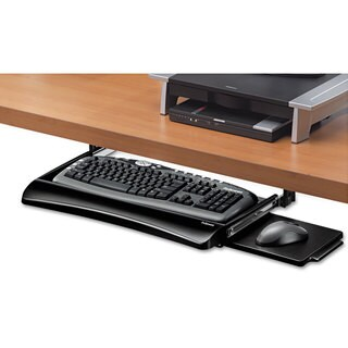 Fellowes Office Suites Underdesk Keyboard Drawer 20-1/8-inch wide x 7-3/4-inch deep Black