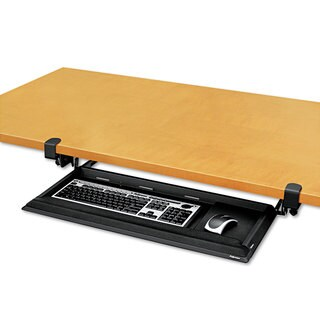 Fellowes Designer Suites DeskReady Keyboard Drawer 19-3/16-inch wide x 9-13/16-inch deep (Black Pearl)