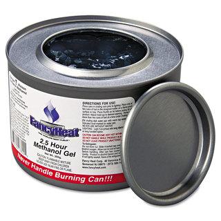 FancyHeat Methanol Gel Chafing Fuel Can 2 1/2hr Burn 7oz (Box of 72)
