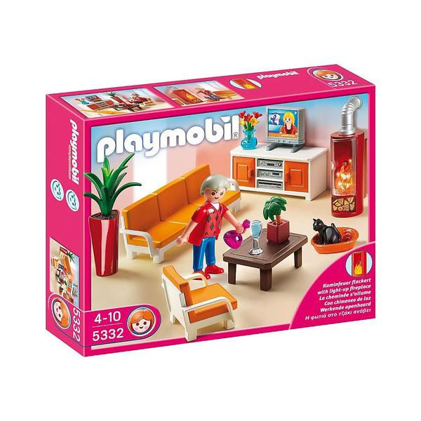 PlayMobil Country Living Room Playset