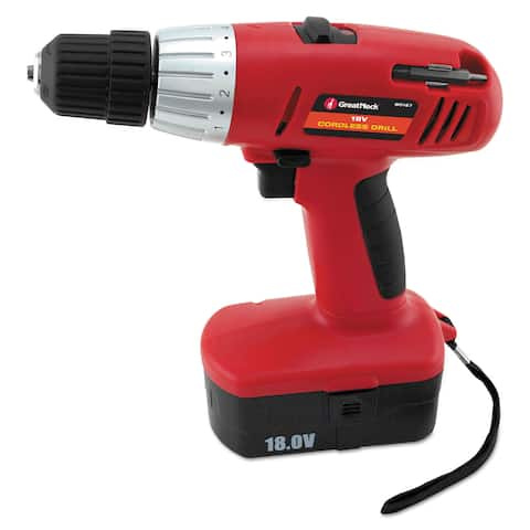 Great Neck Great Neck 18 Volt 2 Speed Cordless Drill 3/8-inch Keyless Chuck