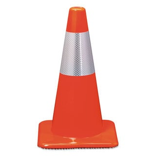 3M Reflective Safety Cone 11 x 11 x 18 Orange