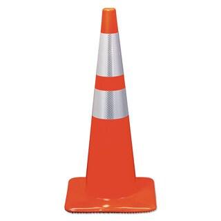 3M Reflective Safety Cone 12 3/4 x 12 3/4 x 28 Orange