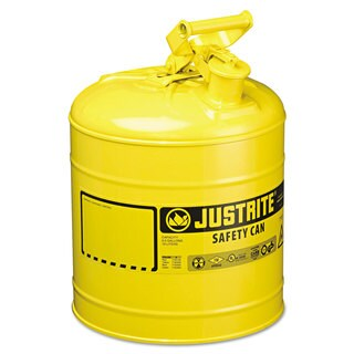 JUSTRITE Safety Can Type I 5gal Yellow