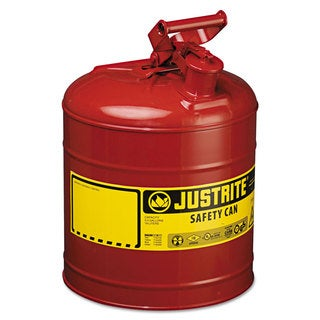 JUSTRITE Safety Can Type I 5gal Red