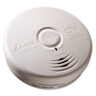 Kidde Kitchen Smoke/Carbon Monoxide Alarm Lithium Battery 5.22-inchDia x 1.6-inchDepth
