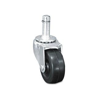 Master Caster Standard Casters Soft Rubber K Stem 75-pound/Caster 4/Set