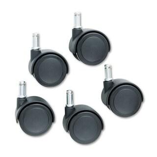 Master Caster Safety Casters Standard Neck Polyurethane K Stem 110-pound/Caster 5/Set