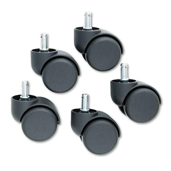Master Caster Safety Casters Oversize Neck Nylon K Stem 110-pound/Caster 5/Set