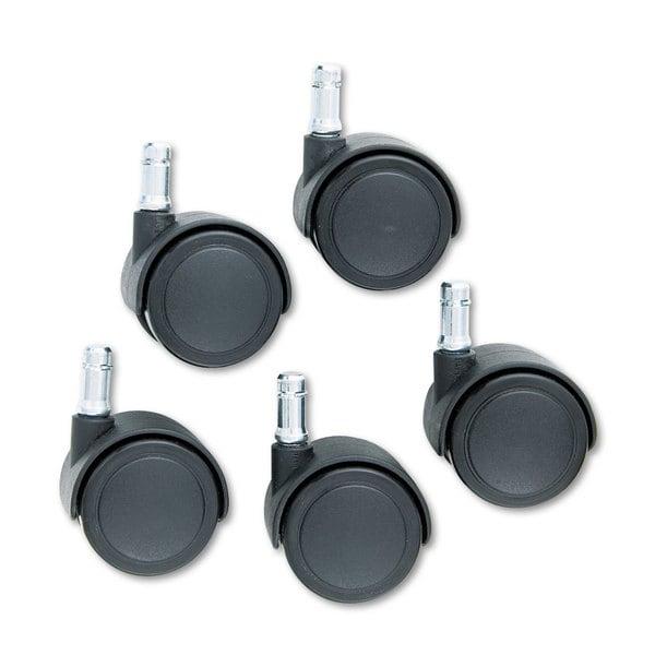 Master Caster Safety Casters,Standard Neck Polyurethane B Stem 110-pound/Caster 5/Set
