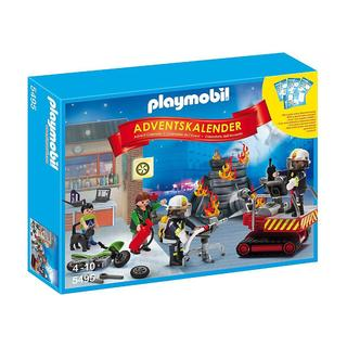 PlayMobil Paymobil Advent Calendar Fire Rescue Operation with Card Game