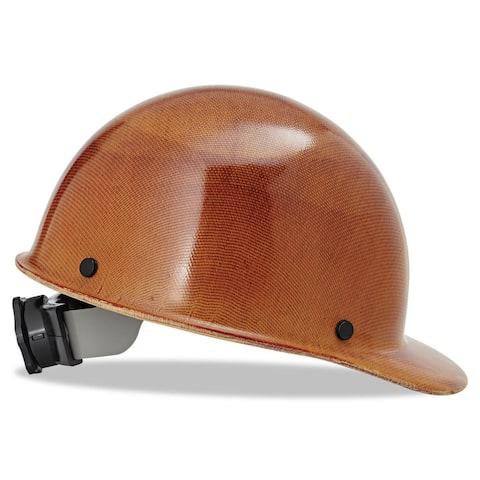 MSA Skullgard Protective Hard Hats Ratchet Suspension Size 6 1/2 - 8 Natural Tan
