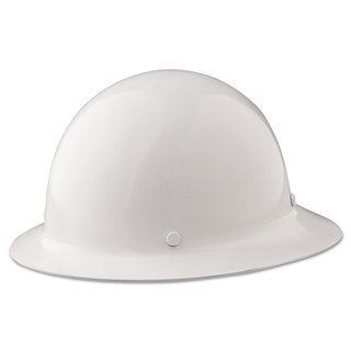 MSA Skullgard Protective Hard Hats Ratchet Suspension Size 6 1/2 - 8 White