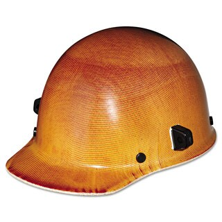 MSA Skullgard Protective Hard Hats Ratchet Suspension Size 6 1/2 - 8 Natural Tan