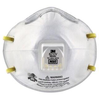 3M Particulate Respirator 8210V N95 Cool Flow Valve 80/Carton