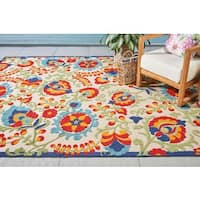 Havenside Home Wrightsville Multicolor Indoor/ Outdoor Area Rug - 3'6 x 5'6