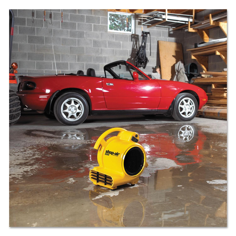 Shop-Vac Mini Air Mover Yellow 8-inch Plastic 500 cfm (Ye...