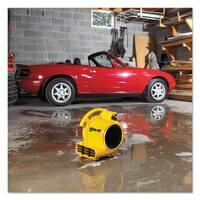 Shop-Vac Mini Air Mover Yellow 8-inch Plastic 500 cfm
