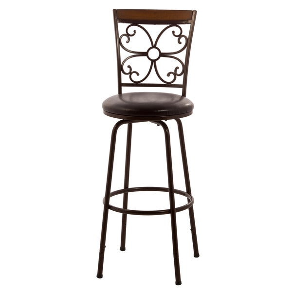 Shop Hillsdale Furniture Garrison Swivel Counter Bar Stool