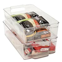 SIMPLY Kitchen Details Large Refrigerator Shelf Organizer
