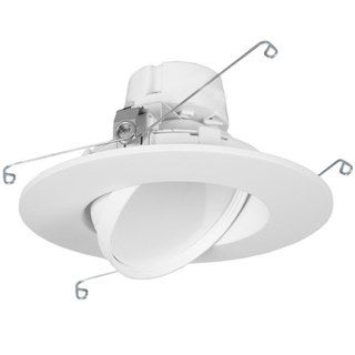 Maxxima 6-inch Dimmable Rotatable LED Retrofit Light (750 Lumens Neutral White 4000k)