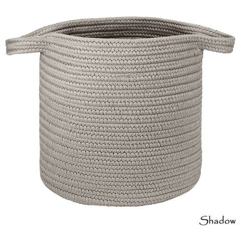 Made-For-You Solid Textured Hamper w/ Strap Handles