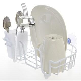 Kitchen Details White Iron Compact In-sink Dish Drainer