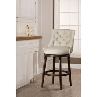 "Hillsdale Furniture Halbrooke Swivel Bar Height Stool - 22.25""W x 24""L x 42.5""H"