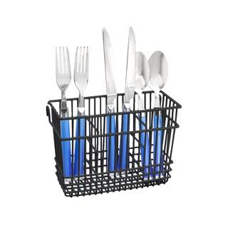 SIMPLY Kitchen Details Black Cutlery Basket