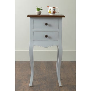 East At Main's Mead Square Mahogany Accent Table