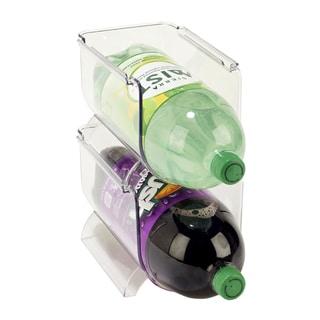 Simply Kitchen Details Clear Plastic Soda Bottle Holder