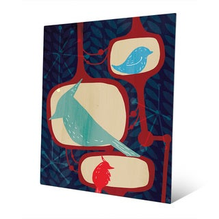 Famous Birds Metal Wall Art Print