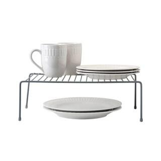 Simply Kitchen Details Large Grey Iron Kitchen Shelf Organizer