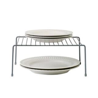 Kitchen Details Grey Iron Medium-sized Kitchen Shelf Organizer