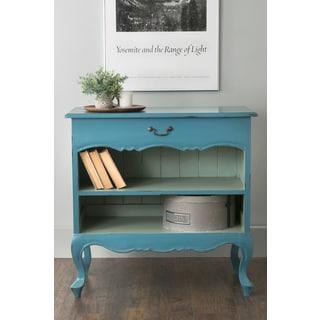 East At Main's Calhan Blue Rectangle Mahogany Bookcase
