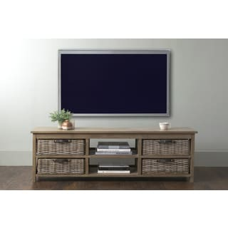East At Main's Lovell Brown Rectangle Mahogany TV Stand