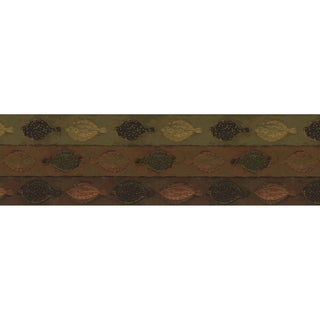 Brewster Brown Vinyl Tropical Fish Wallpaper Border
