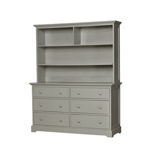 Munire Chesapeake Light Grey Hutch